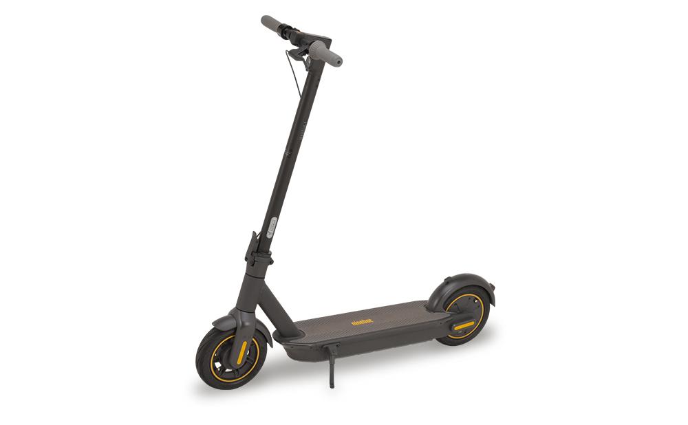 [セグウェイ - ナインボット]電動 キックスクーター マックス Kickscooter MAX 折りたたみ 65km航続 1年保証 正規品