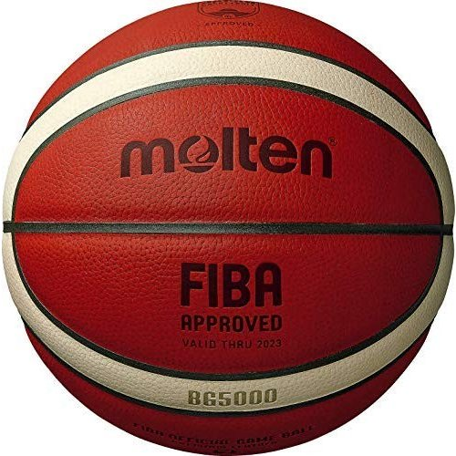 バスケットボール 7号球 (一般用) BG5000 B7G5000 天然皮革 国際公認球 検定球 molten モルテン