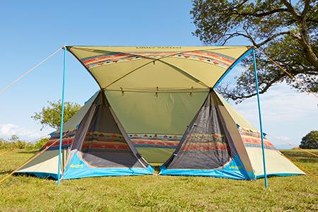 LOGOS logos Navajo PANEL double Tepee 500-AE BBQ Mongolian tent tarp pattern 71806505 & BEASTLE VIBES | Rakuten Global Market: LOGOS logos Navajo PANEL ...