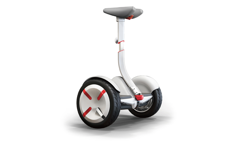 Ninebot mini Pro nine bottominipro nine botvisegway move and leisure uses are endless great next generation mobility electric motorcycle hands-free shooting Park athletic enjoying seeing cherry blossom square