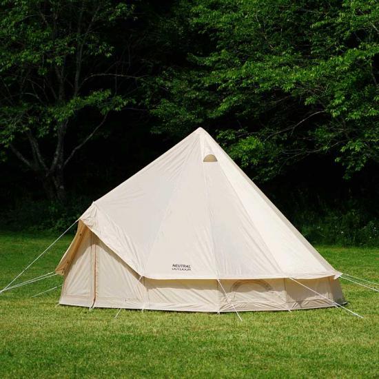 ワンポールテント 5~8人用 ゲル型 テント UVカット 大型テント グランピング キャンプ 送料無料 Neutral Outdoor ニュートラルアウトドア GEテント4.0 NT-TE03