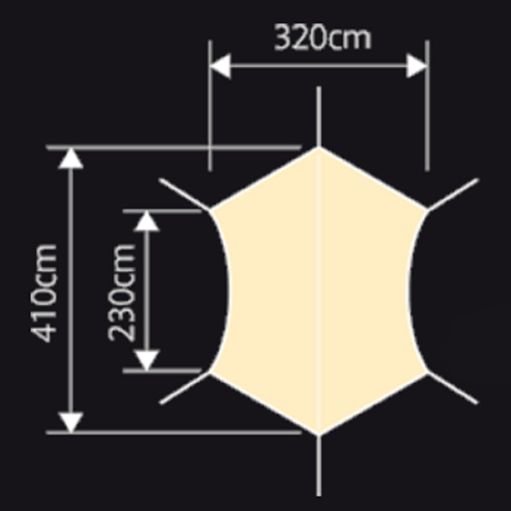 NEUTRAL OUTDOOR(ニュートラルアウトドア) NT-TA02 GEタープ6m 35352