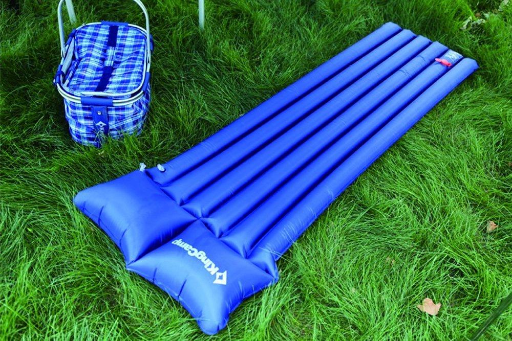 KingCamp (露營) KM3507 泵內置羽量級空氣墊海軍藍色的大海燒烤露營篷休閒戶外野餐野營方便墊將工作在任何和所有的情況下