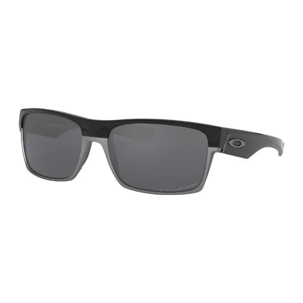 [オークリー (OAKLEY)] サングラス TWOFACE (A) OO9256-06 Polished Black/Black Iridium Polarized 【国内正規流通品】