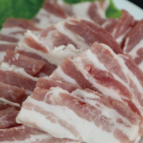 九州産 豚バラ焼肉用 300g 豚肉 国産 国内産
