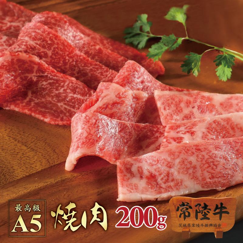 焼肉セット bbq バーベキュー 常陸牛 A5 カルビ 赤身もも 200g 焼き肉 在宅応援セット 自宅用