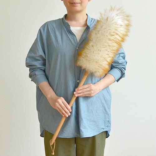 【全品クーポン配布】羊毛 ウールダスター (はたき) LLサイズ  高いところに便利 インテリア にも かわいい! ふわふわの毛がほこりをしっかり落とします (おしゃれ はたき 箒) p01