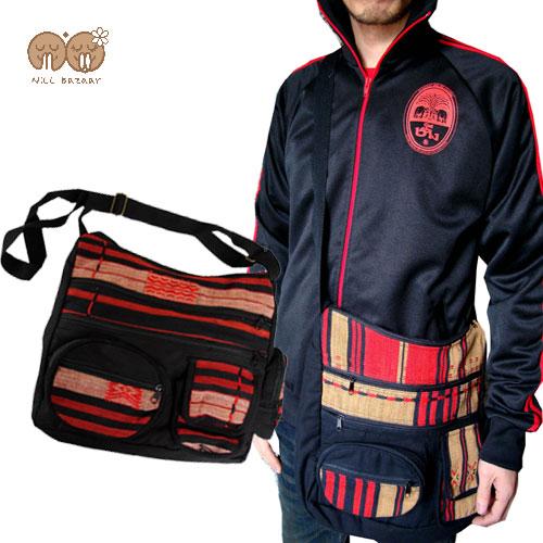♦ Naga people and multi-functional bag