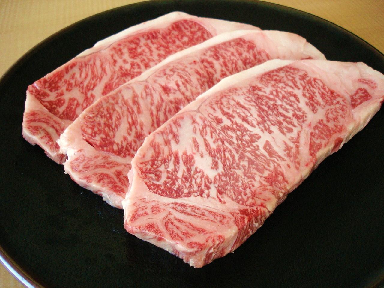 【送料無料】岩手県産黒毛和牛サーロインステーキ用200g3枚
