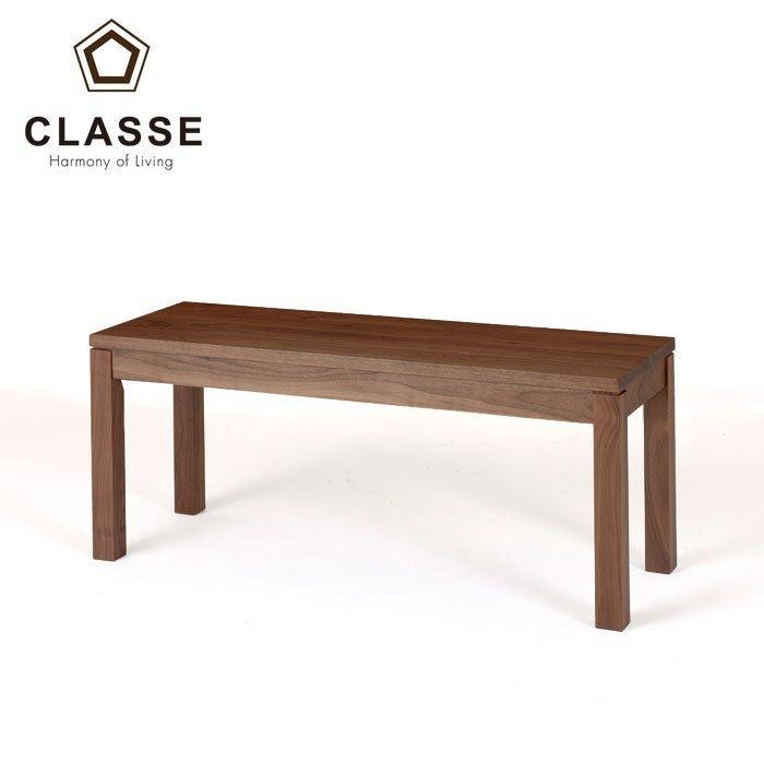 CLASSE クラッセ 新発売 ベンチ チェア 椅子 おしゃれ 国産 リーヴス 店舗受け取可 LEGNATEC ダイニングベンチ 受注生産 Leaves 板座 保障