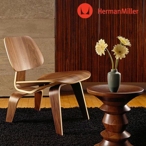 送料無料 Herman 高い素材 Miller ハーマンミラー 正規代理店 人気の定番 イームズ ラウンジチェア ウッドレッグ 正規販売店 プライウッドラウンジチェア プライウッド