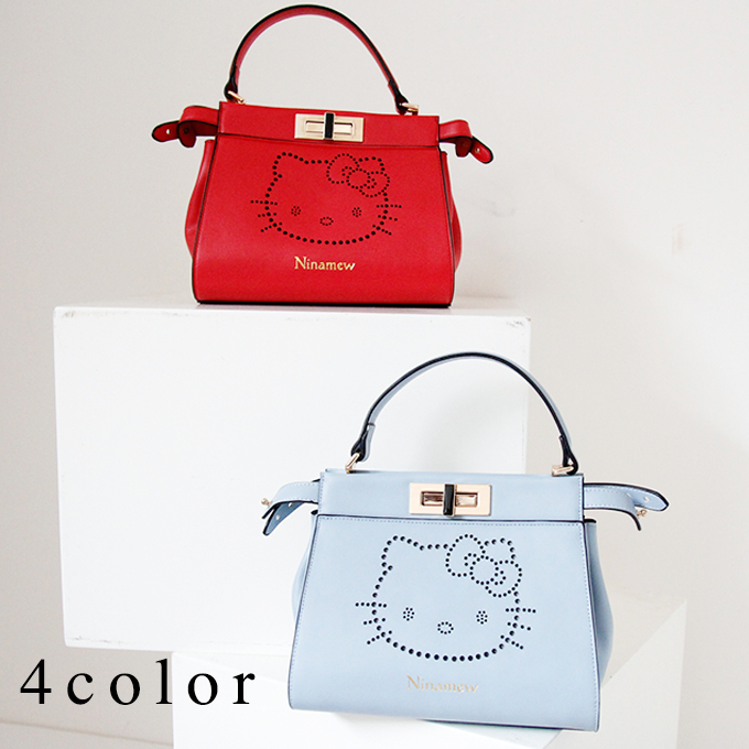 I design a character by punching and am the mini-bag which I finished like  an adult. What I can carry in a compact silhouette willingly is attractive. 6ddac2f31c044