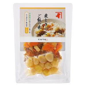 【秋限定】 【数量限定】 にんべん 栗ときのこご飯の素 炊き込みご飯 2合用 <常温・O>
