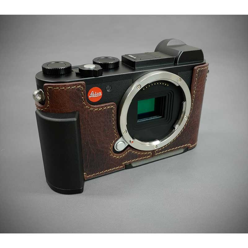 Italian leather camera case metal grip plate high-quality high-quality  genuine leather fashion cool rims Japanese regular store for the LIM'S  Italian