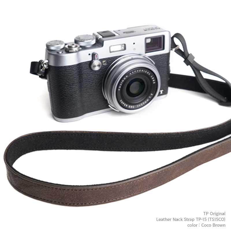 シンプルでおしゃれなレザーカメラネックストラップ TP Original Leather Camera Neck Strap 本革 カメラストラップ ネックストラップ TP-15 ココ クラシックカメラ レザー TS15CO ミラーレス一眼 Brown ブラウン 超特価 ストラップ Coco ランキングTOP5 シンプル おしゃれ