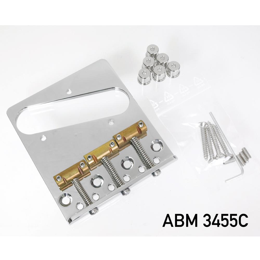ABM/ABM3455C テレキャスター用ブリッジ クローム