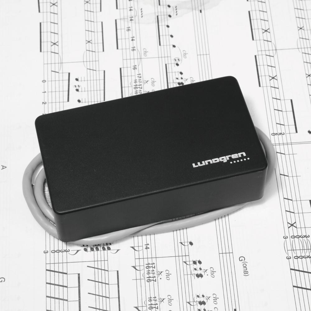 【納期 2~3ヶ月】 Lundgren Model M6C with cover ブリッジ (リア) 単品 / ラングレン ギターピックアップ ハムバッカー【お取り寄せ】【代引き不可】