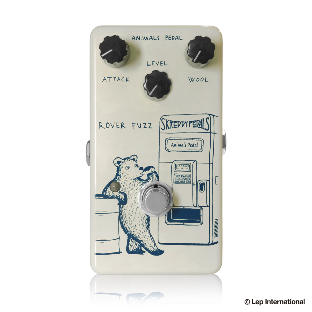 Animals Pedal Rover Fuzz アニマルズペダル 60年代のファズサウンドを網羅する絶妙な ファズ! / ギター エフェクター