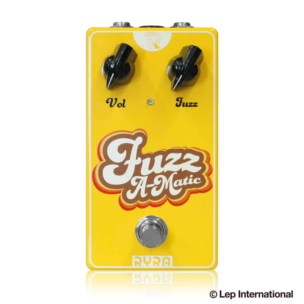 【感謝価格】 RYRA Fuzz Fuzz A-Matic Yellow A-Matic Yellow, クギノムラ:431eb730 --- canoncity.azurewebsites.net