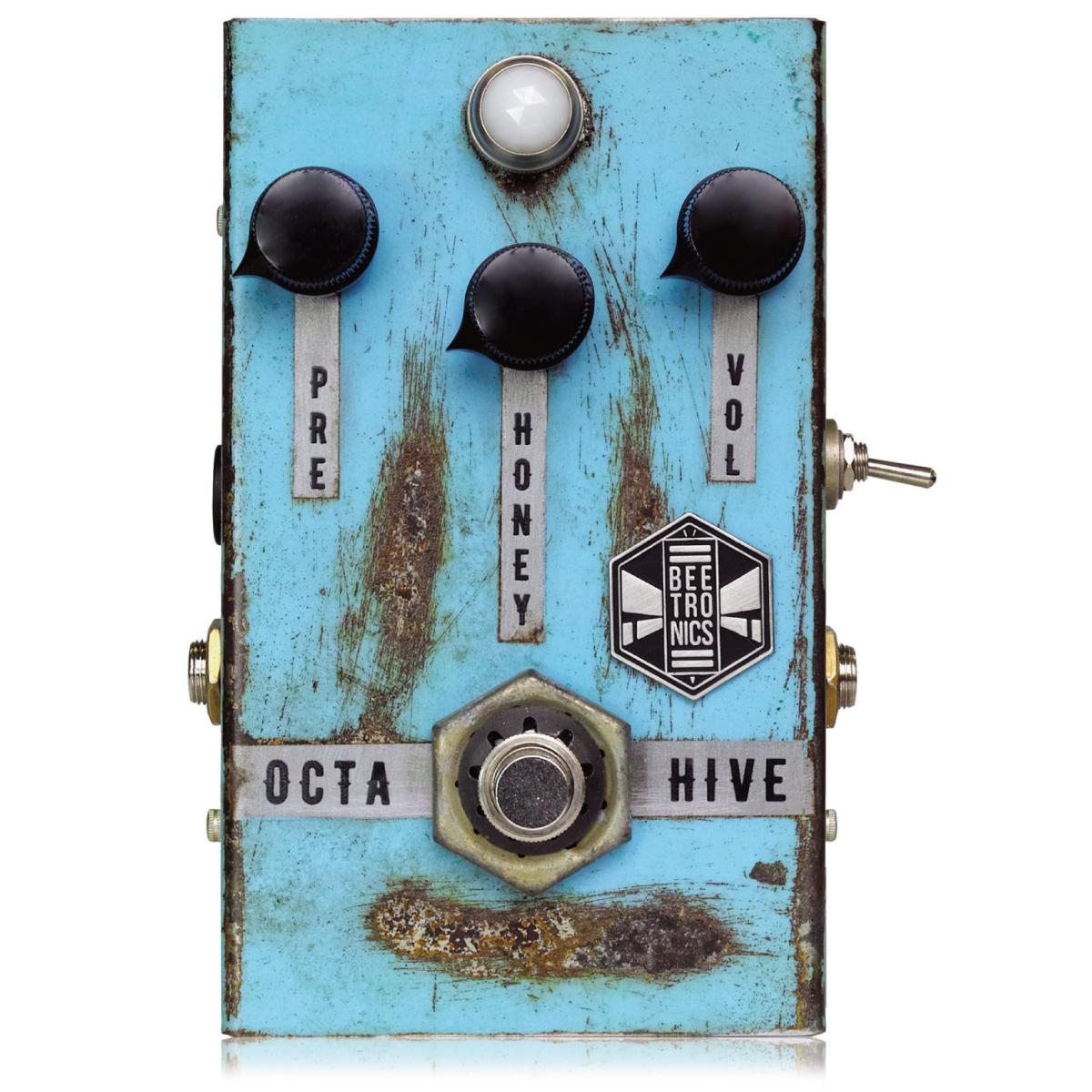 Beetronics OCTAHIVE [動画あり] ビートロニクス オクターブ ファズ ギター エフェクター オクタヴィア を再現