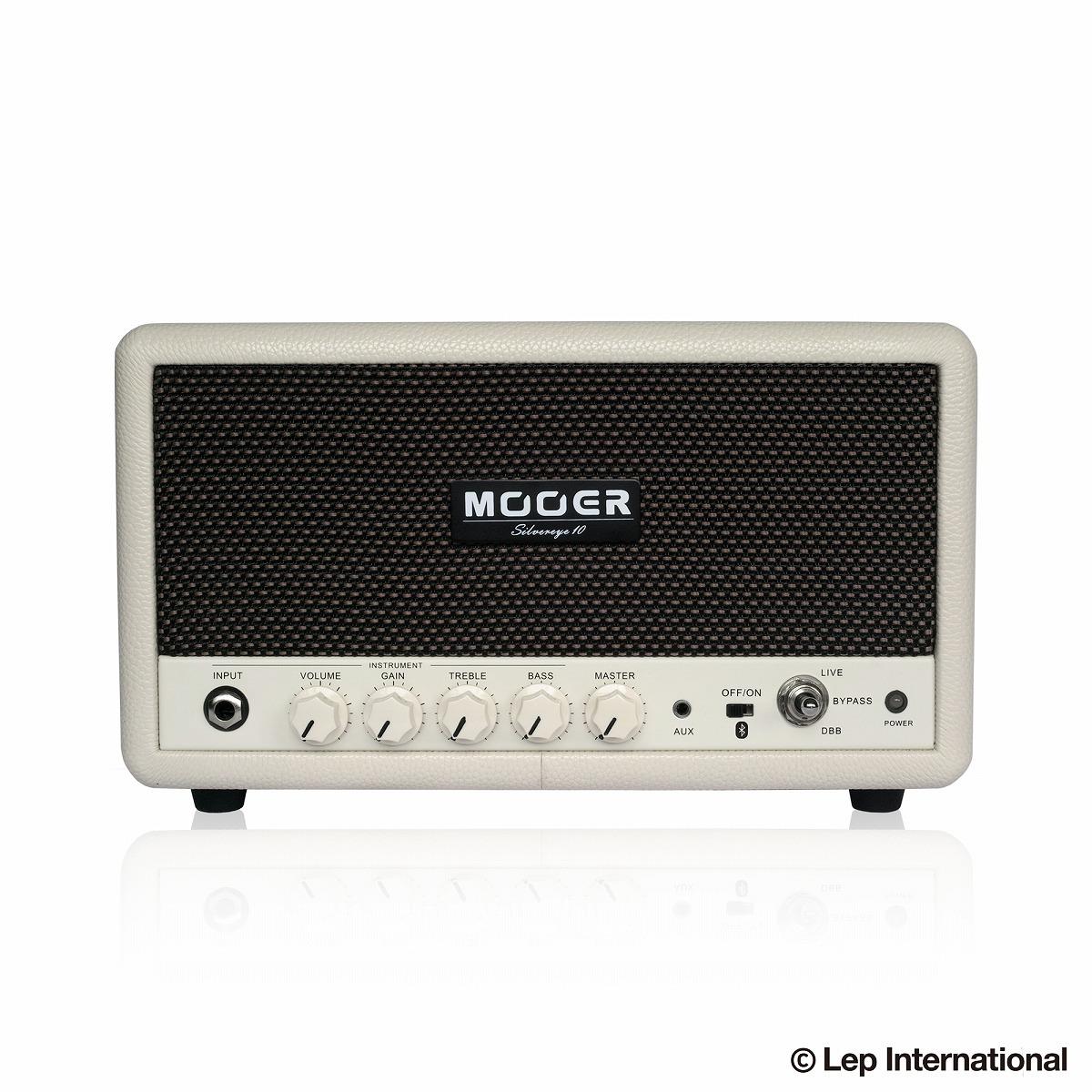 Mooer Silvereye 10 / 多機能プラクティスアンプ! 10W ハイクオリティBluetoothオーディオ × ギターアンプ!