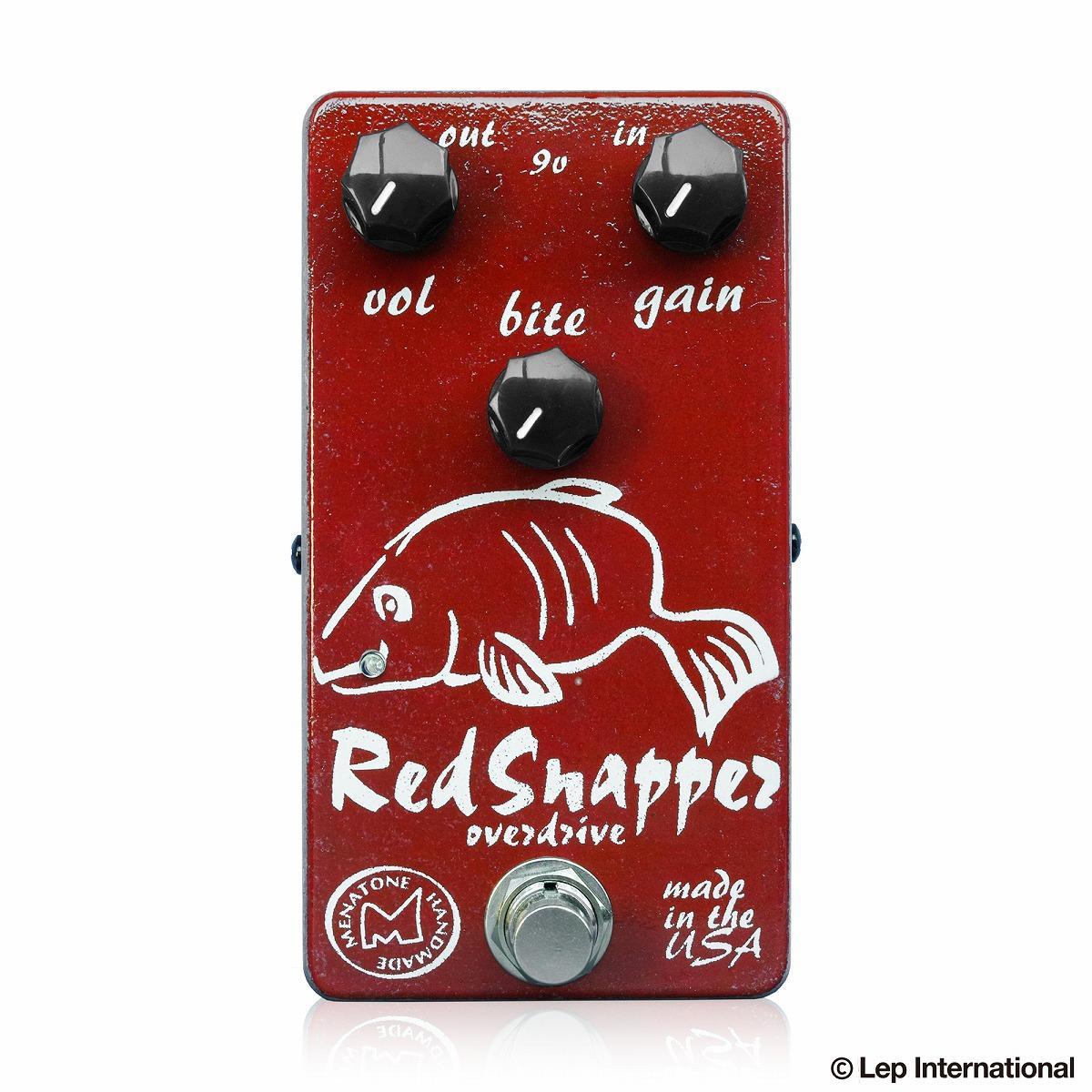 Menatone Red Snapper 3knob / ギター エフェクター オーバードライブ