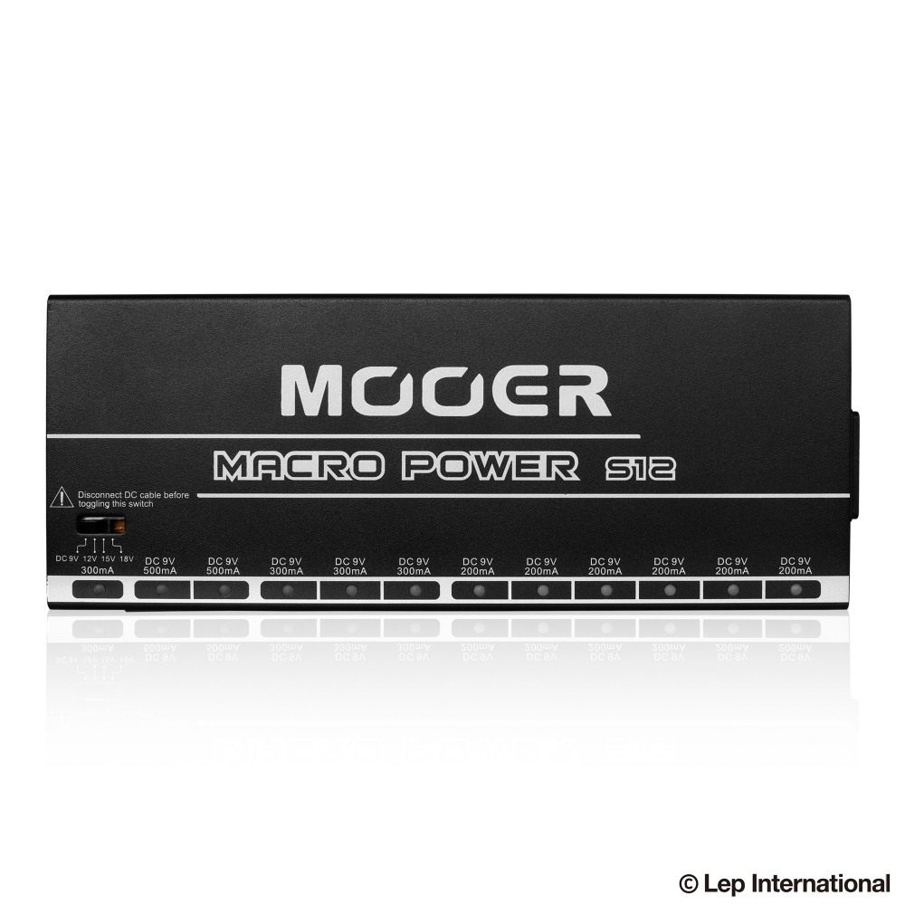Mooer Macro Power S12 All Isolated Power Supply / ギター エフェクター パワーサプライ