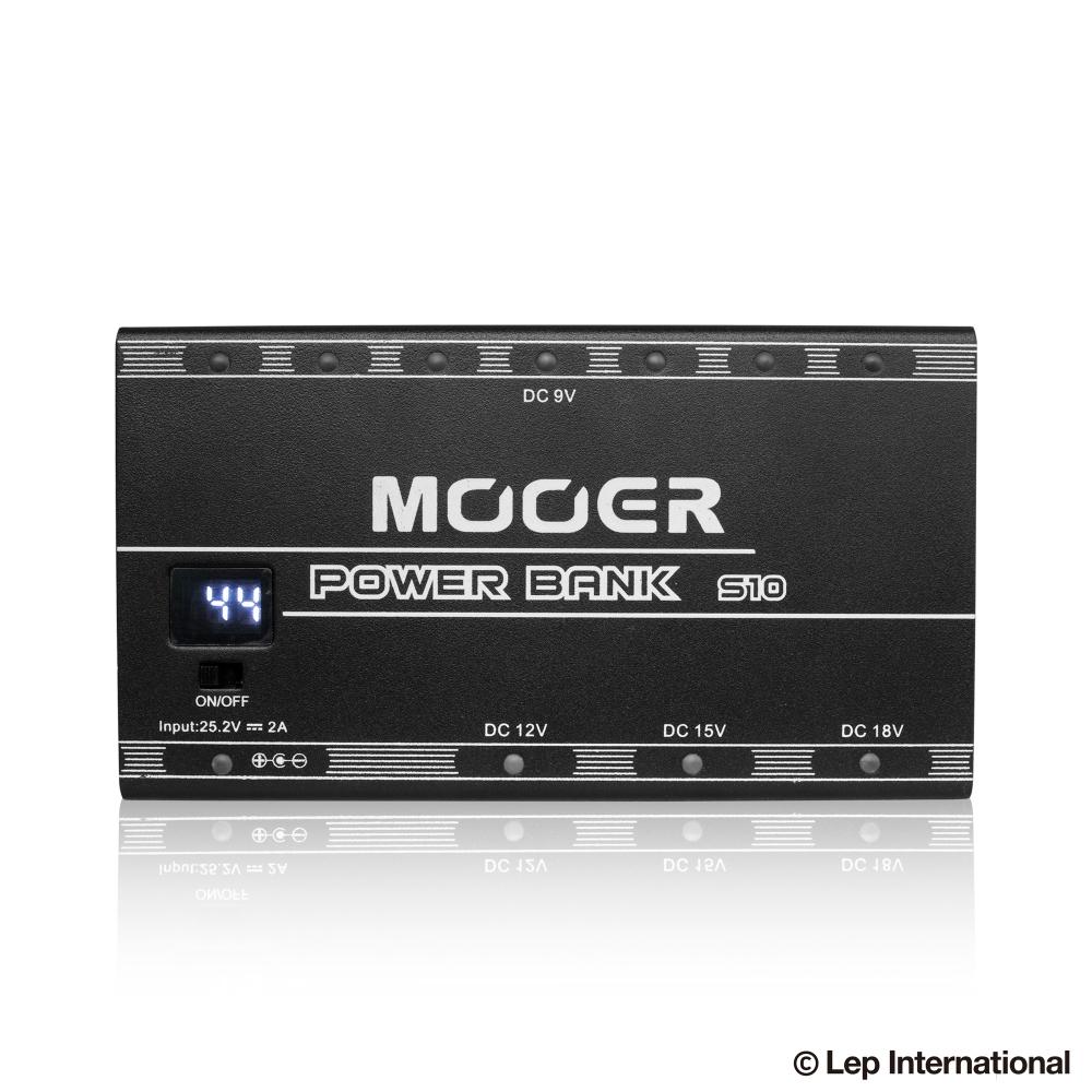 Mooer Power Bank S10 Rechargeable Power Supply / ギター エフェクター リチャージエイブル パワーサプライ