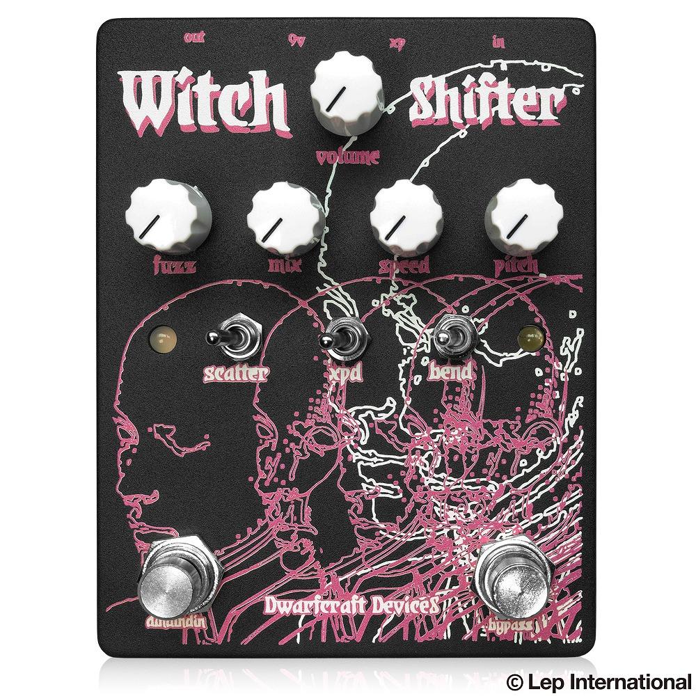 Dwarfcraft Devices Witch Shifter / 超個性派!ピッチモジュレーションファズ!