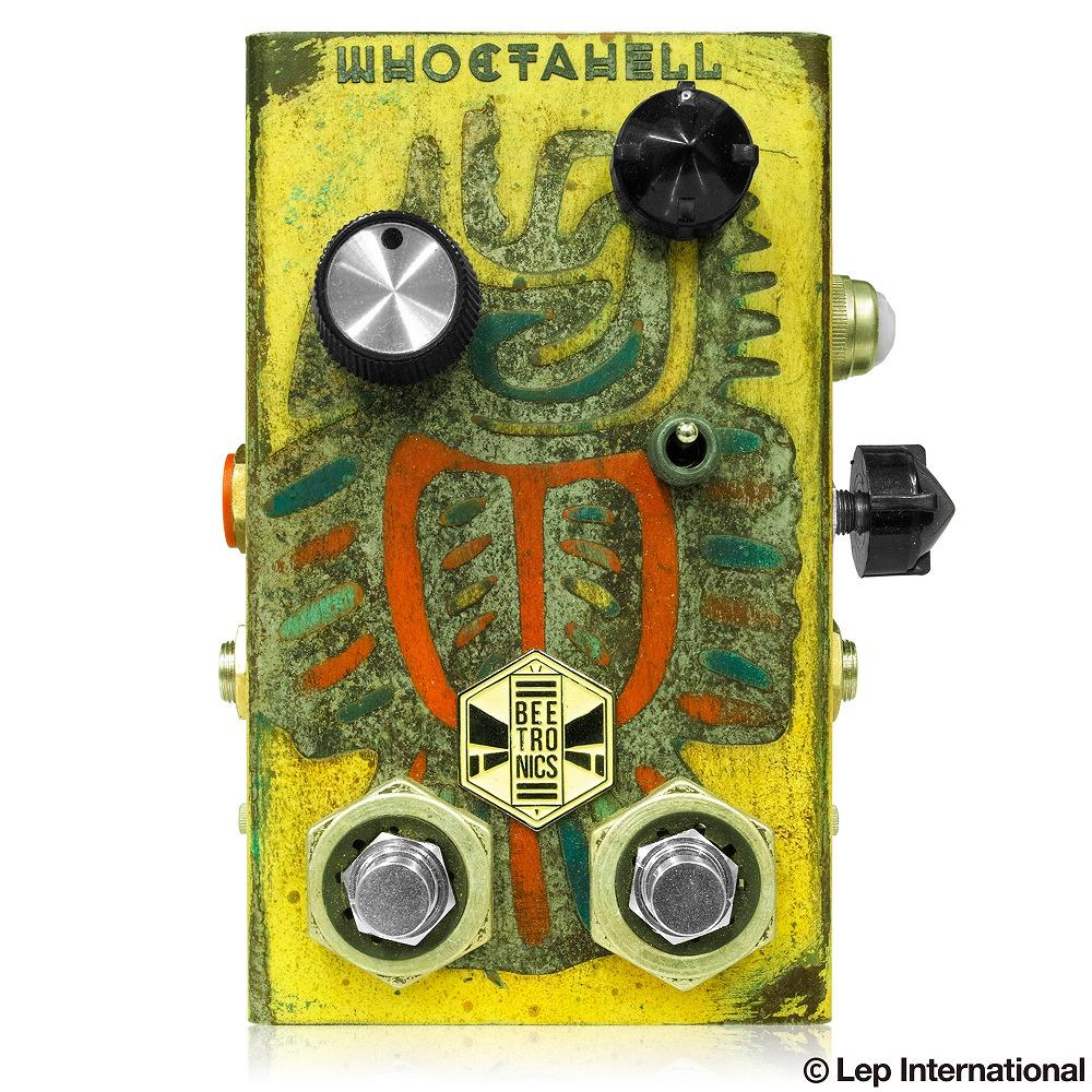 Beetronics WHOCTAHELL Custom Yellow Tail (動画あり) ビートロニクス オクターブ ファズ ギター エフェクター