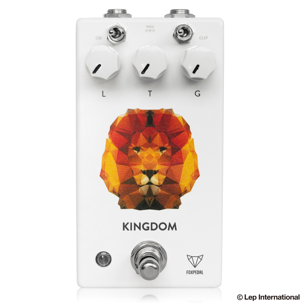 Foxpedal Kingdom White Polygon Lion