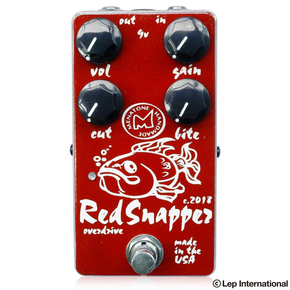 【新商品】【正規輸入品】【送料無料】 Menatone Red Snapper 4knob / ギター エフェクター オーバードライブ