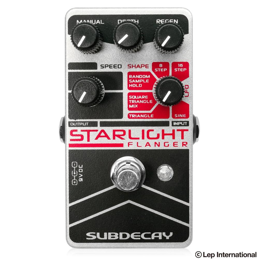 正規品販売! FlangerSubdecay Starlight Flanger, ハルキス:4d6807ff --- canoncity.azurewebsites.net