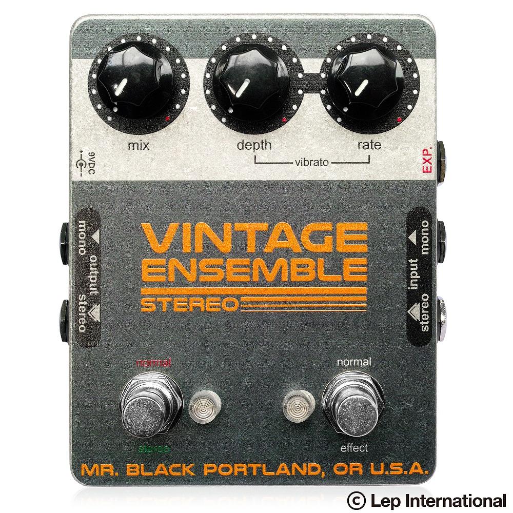 【国内配送】 Mr. Black Stereo Black Vintage Ensemble/ コーラス コーラス ギター Stereo エフェクター, 茨城県:e24b7148 --- trattoriarestaurant.ie