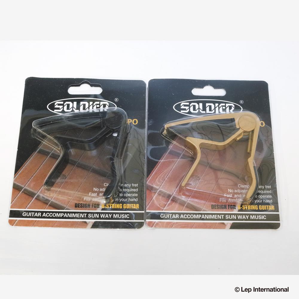 正規輸入品 Soldier Strap 至上 CP-600 ゆうパケット対応可能 カポタスト ギター 買い物 カポ