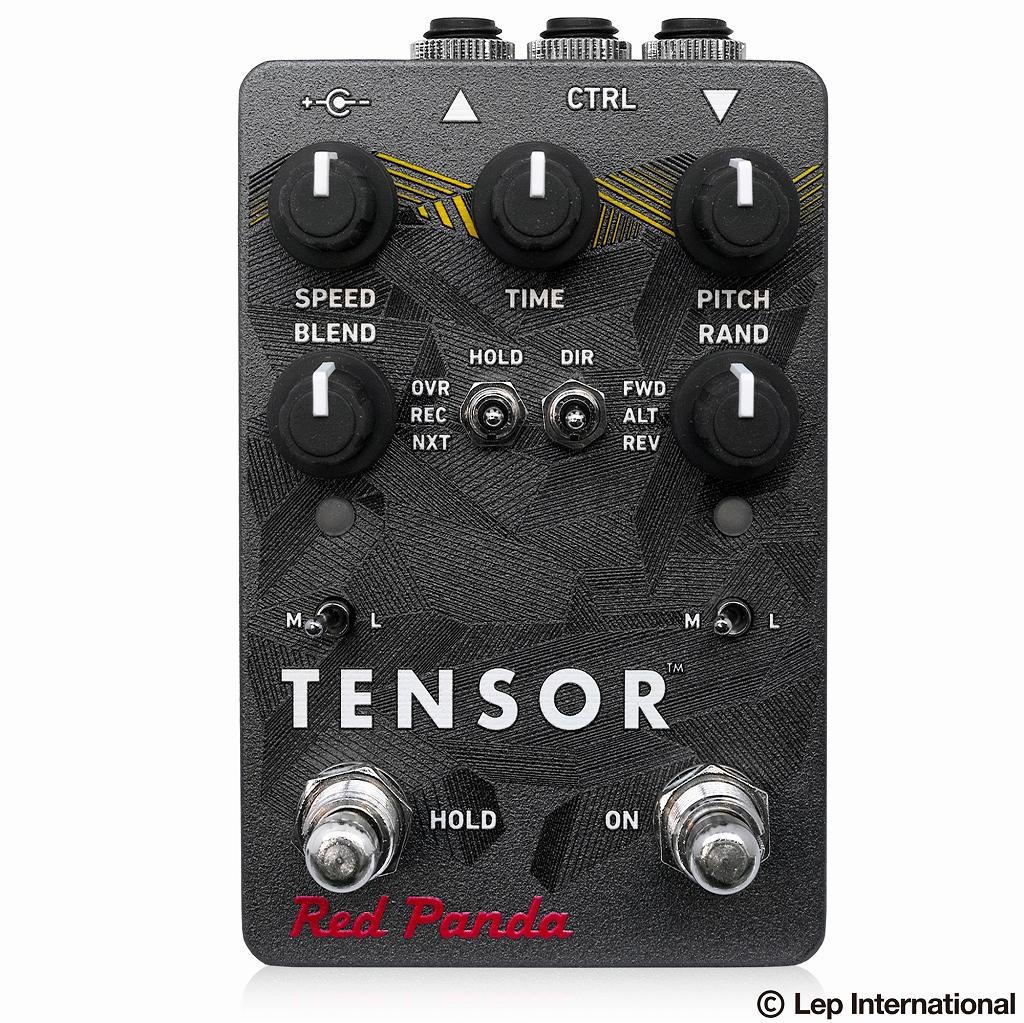 Red Panda Tensor / ノイズ ディレイ ギター エフェクター