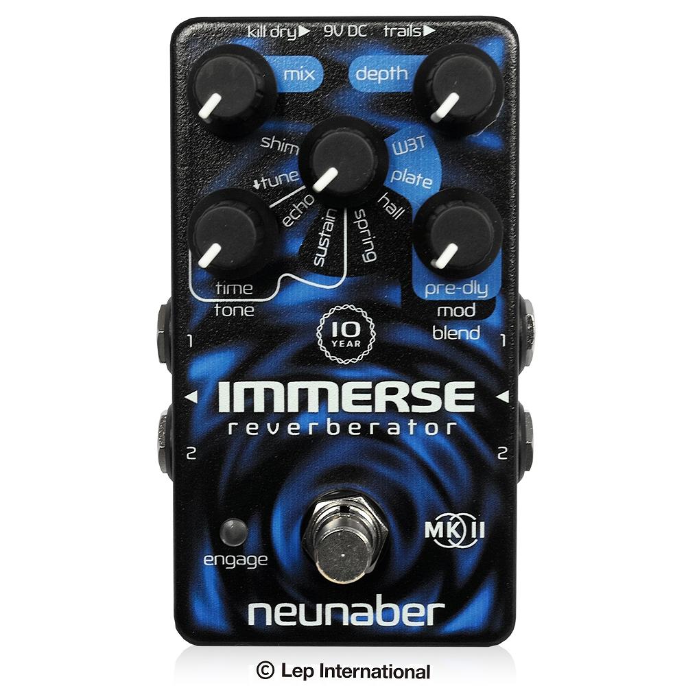 【新商品】【正規輸入品】【送料/代引手数料無料】 【エントリーでポイント20倍:2/9 20:00スタート】 Neunaber Audio Effects 10-YEAR IMMERSE MK II / リバーブ エフェクター ギター