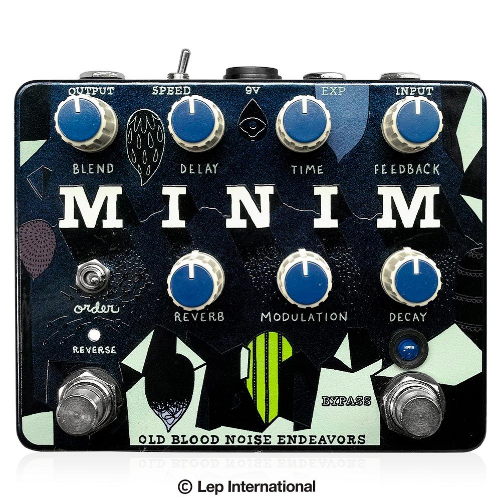 Old Blood Noise Endeavors MINIM / ディレイ リバーブ エフェクター ギター