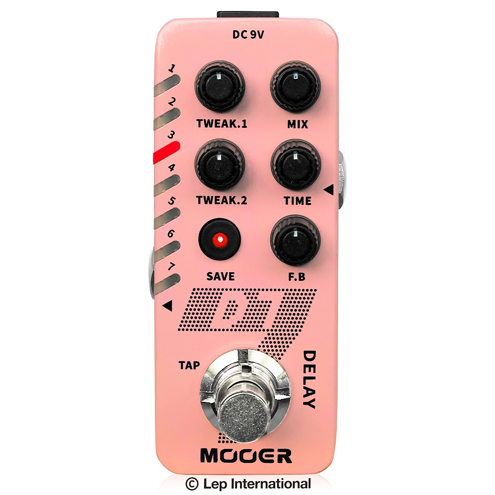 Mooer D7 / ディレイ ルーパー ギター エフェクター