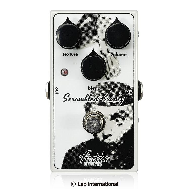 【正規輸入品】【送料無料】 Fredric Effects Scrambled Brainz / ファズ ギター ベース エフェクター