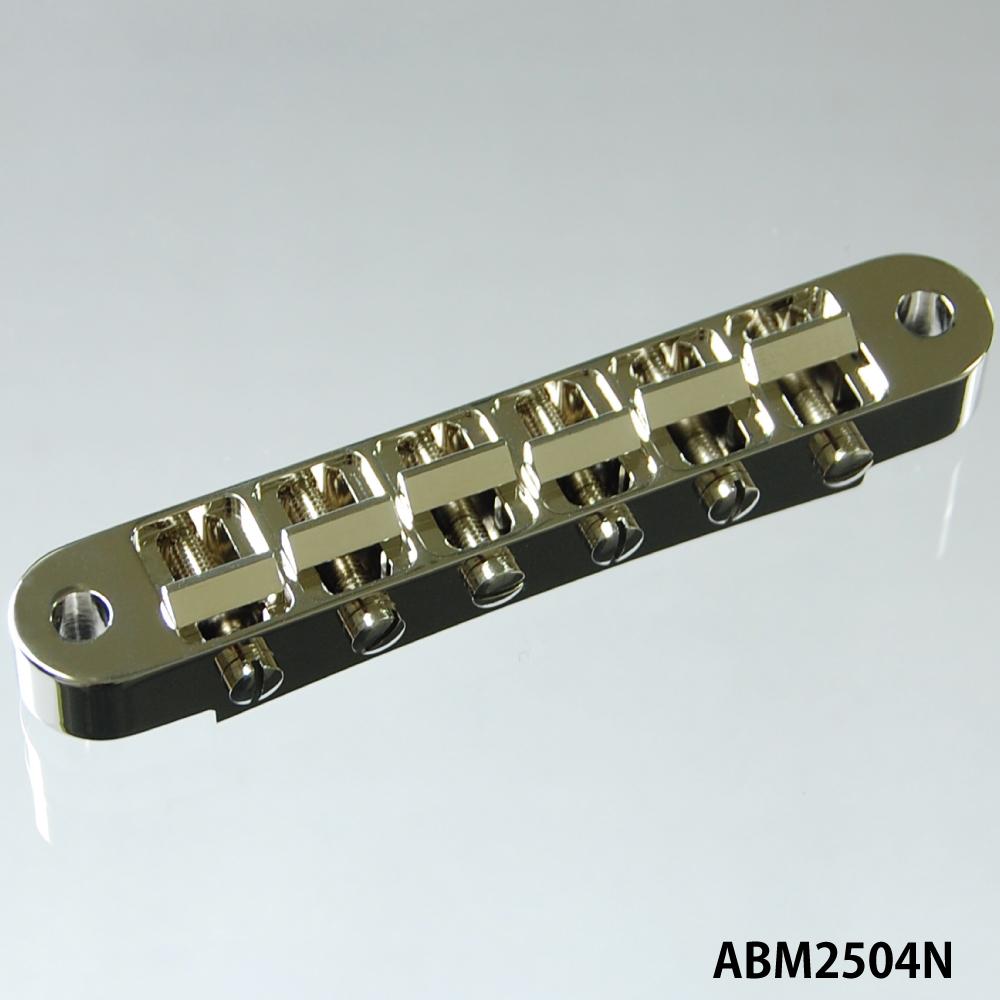 【納期: 約3ヶ月~】ABM/ABM2504N ナッシュビルタイプブリッジセット ニッケル(インチ規格)【お取り寄せ】【代引き不可】