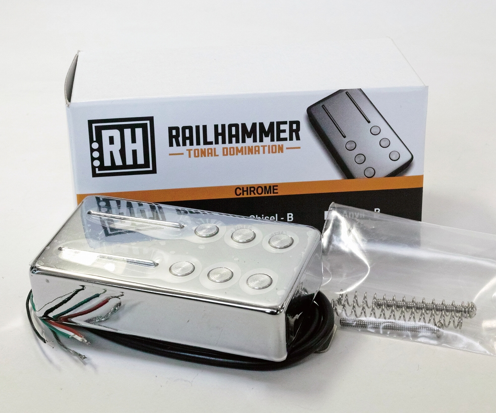 Railhammer Pickups Chisel Chrome 単品 ネック側