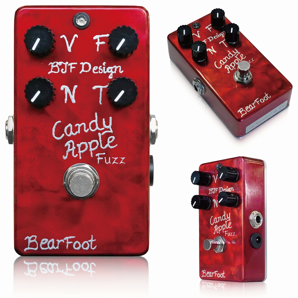 Bearfoot Guitar Effects Candy Apple Fuzz Silver ※ [エフェクター]