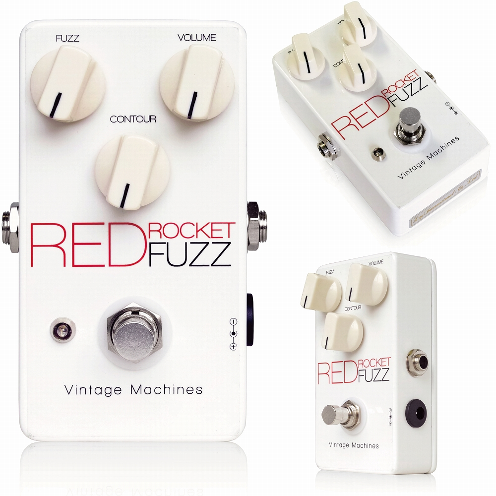 Vintage Machines Red Rocket Fuzz ※ [エフェクター]