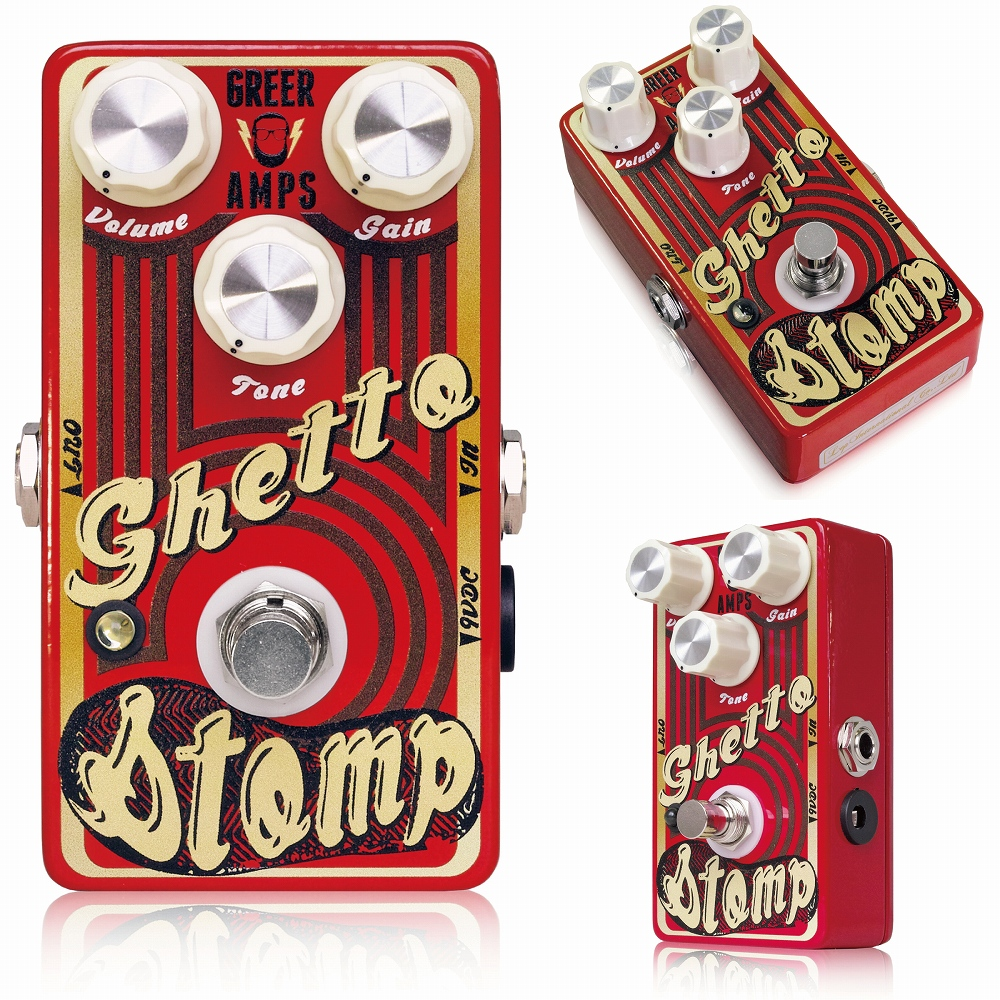 Greer Amps Ghetto Stomp ※ [エフェクター]