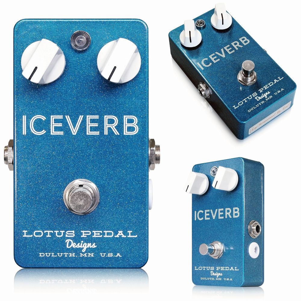 Lotus Pedal Designs Iceverb ※ [エフェクター]
