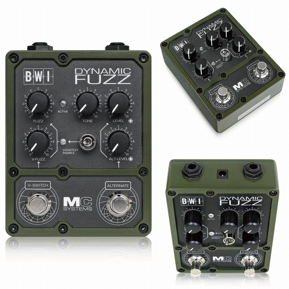 MC Systems BWI Dynamic Fuzz [エフェクター]