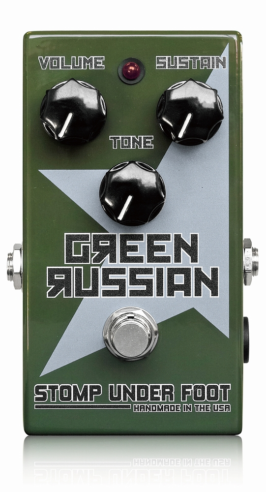 Stomp Under Foot Green Russian (旧デザイン)