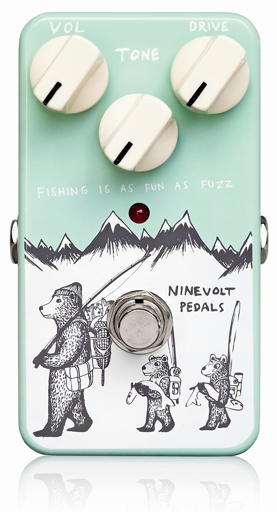 NINEVOLT PEDALS FISHING IS AS FUN AS FUZZ