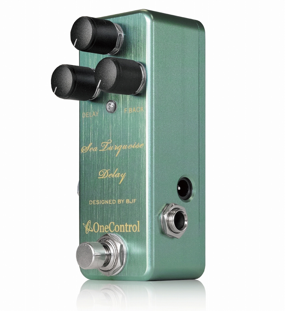 One Control Sea Turquoise Delay/小型踏板